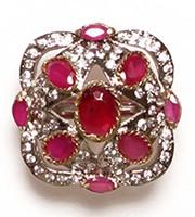 MUGHAL Medium Ring RGRA02752 Indian Jewellery