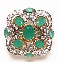 MUGHAL Medium Ring RGGA02749 Indian Jewellery