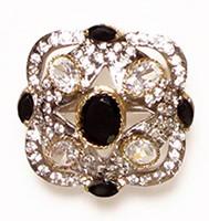 MUGHAL Medium Ring RGBA02748 Indian Jewellery