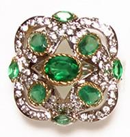 MUGHAL Medium Ring RGGA02745 Indian Jewellery