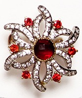 Large Indian Ring RGOA02739 Indian Jewellery