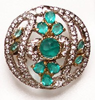 Large Indian Ring RGLA02736 Indian Jewellery