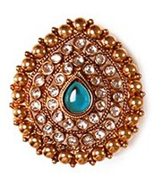 Large Rajasthani Ring RGLP03766 Indian Jewellery
