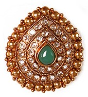 Large Rajasthani Ring RGGP03768 Indian Jewellery