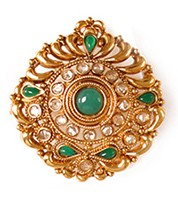 Large Rajasthani Ring RGGP03760 Indian Jewellery