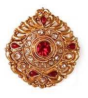 Large Rajasthani Ring RGRP03764 Indian Jewellery