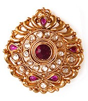 Large Rajasthani Ring RGUP03762 Indian Jewellery