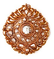 Large Rajasthani Ring RGWP03763 Indian Jewellery