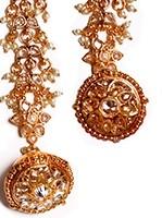 Rajasthani Bell, Borla Tikka ZGWP02705 Indian Jewellery