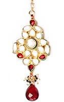Kundan Medium Indian Tikka ZGRK03177 Indian Jewellery