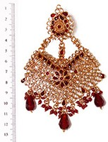 Polki Jhumar PGRP04528 Indian Jewellery