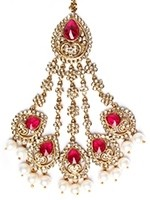 American Diamond Pakistani Jhumar - Sumandeep PAWL11041C Indian Jewellery