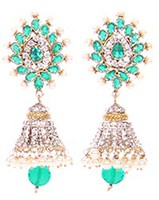 DIAH Jhumki Earring ESLA03043 Indian Jewellery
