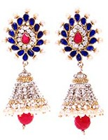 DIAH Jhumki Earring ESLA03045 Indian Jewellery