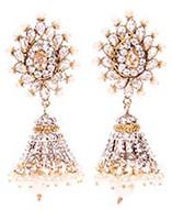 DIAH Jhumki Earring ESWA03046 Indian Jewellery