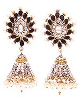 DIAH Jhumki Earring ESBA03047 Indian Jewellery