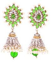 DIAH Jhumki Earring ESGA03048 Indian Jewellery