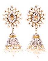 DIAH Jhumki Earring ESWA03049 Indian Jewellery