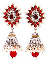 DIAH Jhumki Earring ESRA03051 Indian Jewellery
