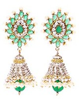 DIAH Jhumki Earring ESGA03052 Indian Jewellery