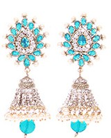DIAH Jhumki Earring ESLA03508 Indian Jewellery