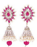 DIAH Jhumki Earring ESRA03509 Indian Jewellery