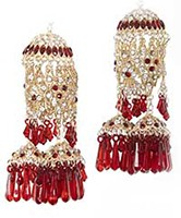 diamante Kaleeras: Pair AGRC0768 Indian Jewellery