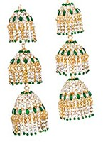 RIMI Kaleeras: Pair AGGC02390 Indian Jewellery
