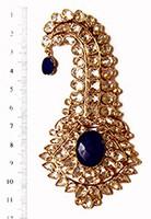 AKBAR Large Kalgi KALA02822 Indian Jewellery