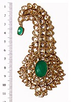 Akbar Large Kalgi KAGA04525 Indian Jewellery