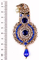 Aktaar Brooch KGLC10074 Indian Jewellery