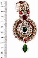 Aktaar Brooch KGMC10080 Indian Jewellery