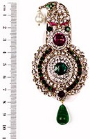 Aktaar Brooch KGMC10081 Indian Jewellery
