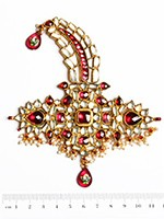 Khazana Wide Kundan Kalgi KGPK10091 Indian Jewellery