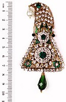 Shah Brooch KAGC10093 Indian Jewellery