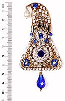 Shah Brooch KALC10094 Indian Jewellery