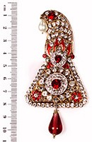Shah Brooch KARC10096 Indian Jewellery