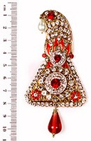 Shah Brooch KARC10097 Indian Jewellery