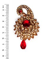Golden Stone Paisley KARA10107 Indian Jewellery