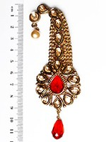 Golden Stone Longer Paisley KARK10110 Indian Jewellery