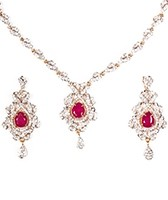 Sophisticated Necklace Set NGRA04624 Indian Jewellery