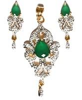 Delicate Indian Pendant NGWA10552C Indian Jewellery