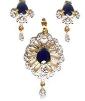 Delicate Indian Pendant NGWA10553C Indian Jewellery