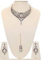 Nisha Indian Bridal Jewellery BAWK03974 Indian Jewellery