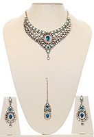 Nisha Indian Bridal Jewellery NALK03977 Indian Jewellery