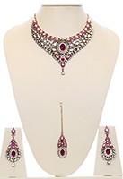 Nisha Indian Bridal Jewellery NAPK03979 Indian Jewellery