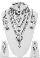 Rhumi Kundan Bridal Set BSWK04746 Indian Jewellery