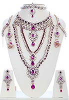Rhumi Kundan Bridal Set BAUK04748 Indian Jewellery