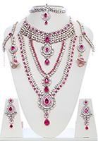 Rhumi Kundan Bridal Set BAPK04750 Indian Jewellery