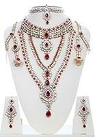 Rhumi Kundan Bridal Set BARK04751 Indian Jewellery